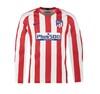 Домашняя форма с длинным рукавом Атлетико Мадрид сезон 19-20 (футболка+шорты+гетры)